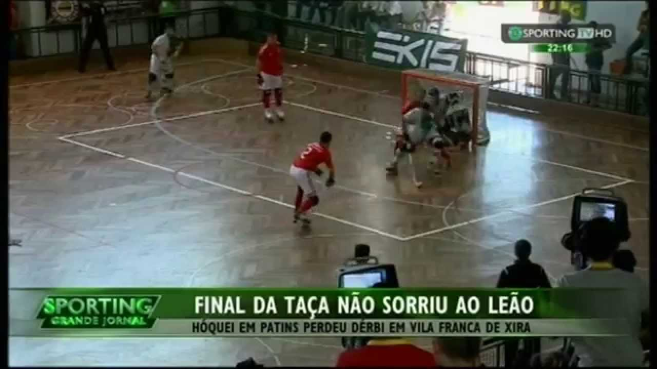 Hoquei Patins :: Benfica - 3 x Sporting - 0 de 2014/2015 - Final Taça de Portugal