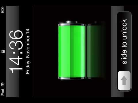 how to make your battery percentage show on iphone 4