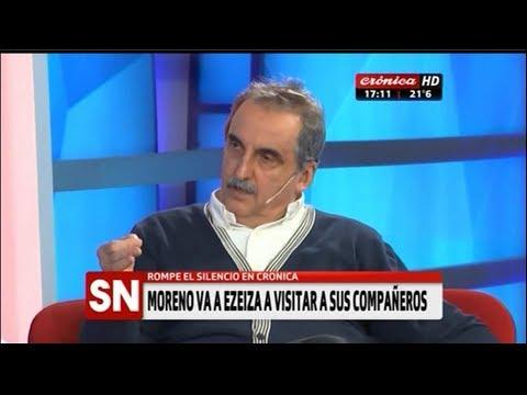 Guillermo Moreno en Cronica TV  07/11/17