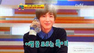 [HD] 110520 5000 questions - Leeteuk & Jooyeon (After School) acting cut