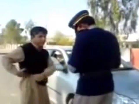 A Rude Violator VS Pakistan Motorway Police   YouTube
