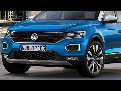Фольксваген уничтожит КРЕТУ Новый кроссовер Volkswagen T Roc 2018