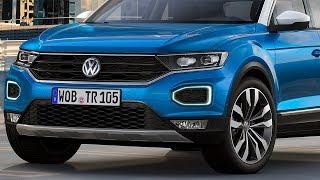Фольксваген уничтожит КРЕТУ! Новый кроссовер Volkswagen T Roc 2018!