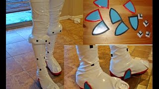 Cosplay Tutorial: Stretch Boot Cover