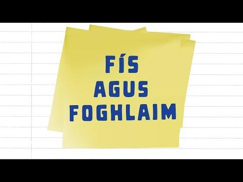 Fís agus Foghlaim - Físeán 1 - Téarmaíocht
