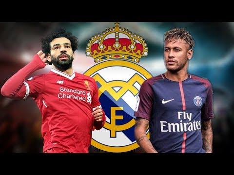 مفااااجأة.. محمد صلاح ونيمار إلى ريال مدريد !! هذه أبرز الانتقالات الصيفية