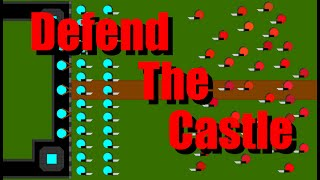 Defend The Castle Part 1 - Algodoo Marble Race