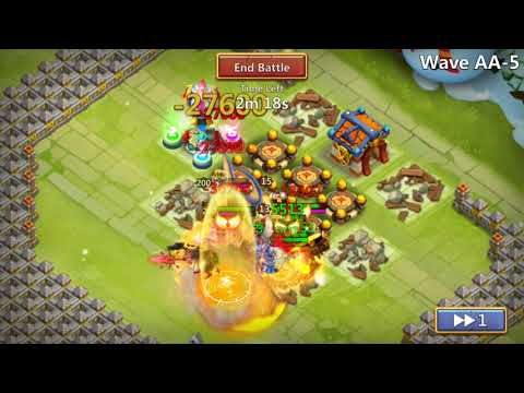 Castle Clash | How To Beat HBM AA-AE | TH 21 | F2P