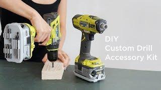 3D Printed Custom Drill Accessory Kit