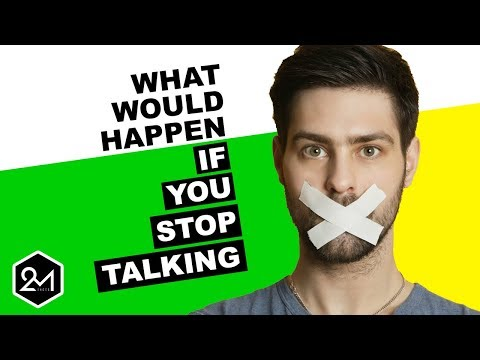 What Would Happen To Your Voice If You Stopped Talking?