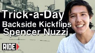 How-To Skateboarding: Backside Kickflip with Spencer Nuzzi
