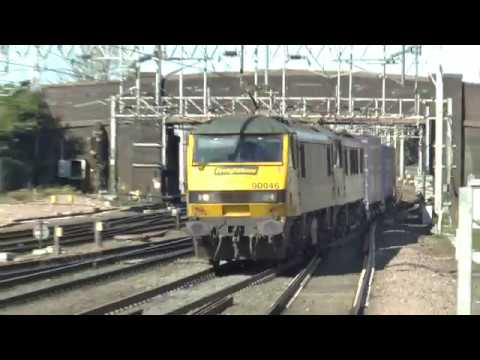Stafford Freight & Railtours class 37,57,67,68,70,86,90,319 unit on 25-03-17..
