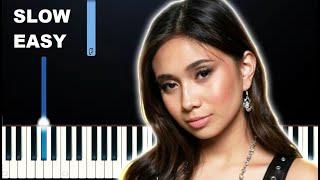 NIKI - La La Lost You (SLOW EASY PIANO TUTORIAL)