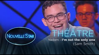 "Yadam : ""I'm not the only one"" - Théâtre - Nouvelle Star 2017"