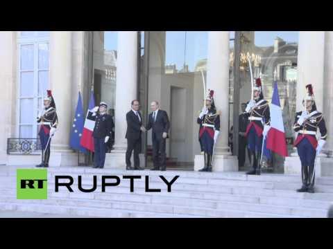 France: Putin arrives for Normandy Quartet talks on Ukraine crisis