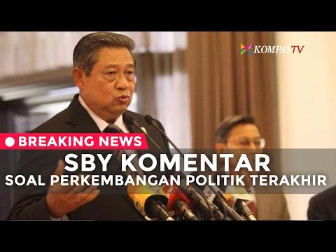 SBY Komentar Soal Perkembangan Politik Terakhir - BREAKING NEWS
