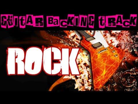 Rock Guitar Backing Track (G/C) | 93 bpm - MegaBackingTracks