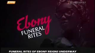 Ebony Final Funeral Rites. Rev Lawrence Tetteh Preached, Owusu Bempah was there.