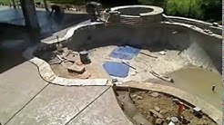 Swimming Pool Construction -Time Lapse