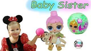 Алина открывает куколку LIL Sisters - Новая LOL BABY DOLLS L.O.L. Surprise