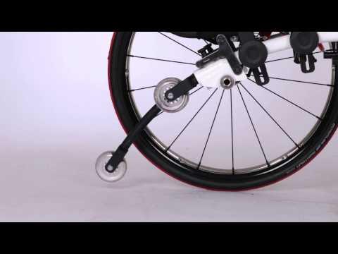 O4 WheelChairs - Geïntegreerde Tipcontrol / Antikiepsteun
