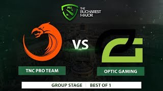 TNC Pro Team vs  Optic Gaming | Best of 1 | The Bucharest Major 2018