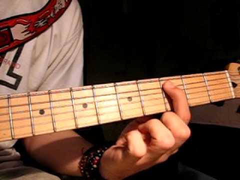 Slash - Promise (feat. Chris Cornell) Main riff tutorial