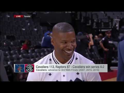 Jamie Foxx Does His Best Stephen A Smith & Chris Bosh Impression