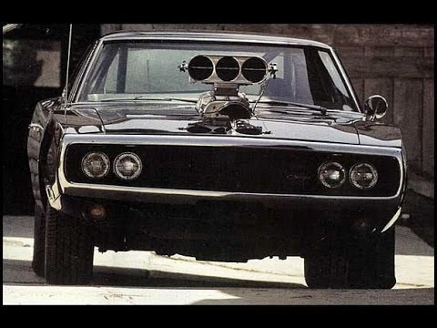 Black 1970 Dodge Charger Burnout Youtube