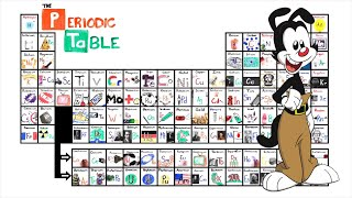 The ASAPScience Periodic Table Song but Yakko says the country/city...