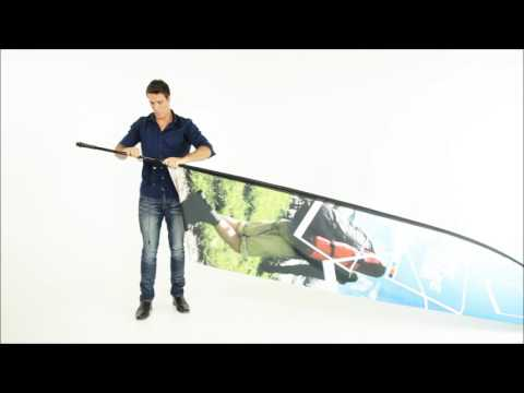 ExpandaBrand Wing Banners How To Set Up And Dismantle Your Advertising Flags