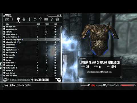 New Jagged Thorn Vampire Skyrim Lets Play! 18