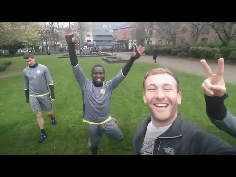 Man Finds Anderlecht Players Training In Manchester Park!