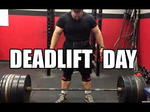 Deadlift Day (Baker Barbell Club Online)