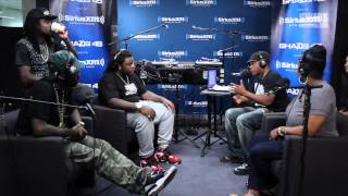 "Wale Performs ""Love Hate Thing"" in Sway in the Morning"