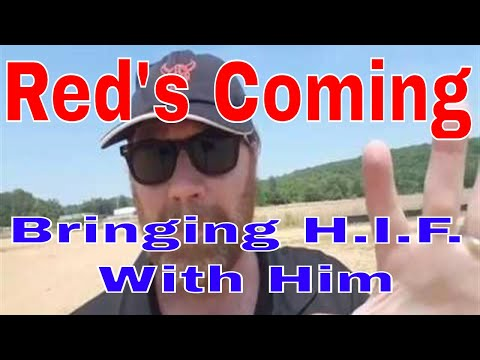 Tell Em Red's Coming + He's Bringing H. I. F. With Him | RVTGear.com | RVT
