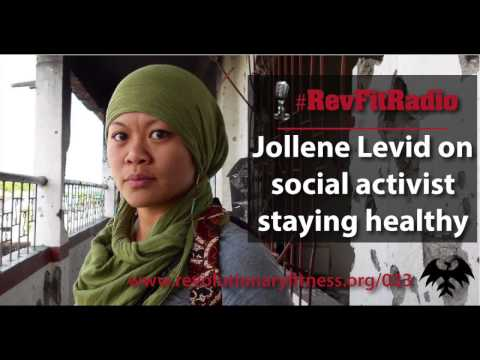 RevFitRadio #023: Jollene Levid on why activist need to prioritize health [Podcast]