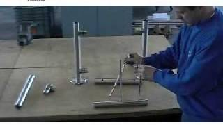 видео ограждения из нержавеющей стали