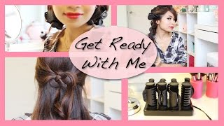 Get Ready With Me: Holiday Glam Hairstyle Thumbnail