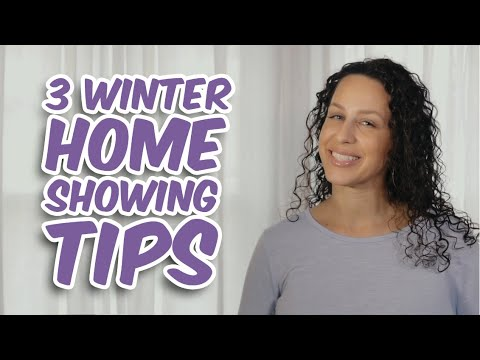 3 Winter Home Showing Tips