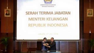 [EVENT] - Serah Terima Jabatan Menkeu Bambang P.S. Brodjonegoro kpd Sri Mulyani Indrawati