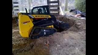 New Holland C227 Compact Track Loader Demo 3