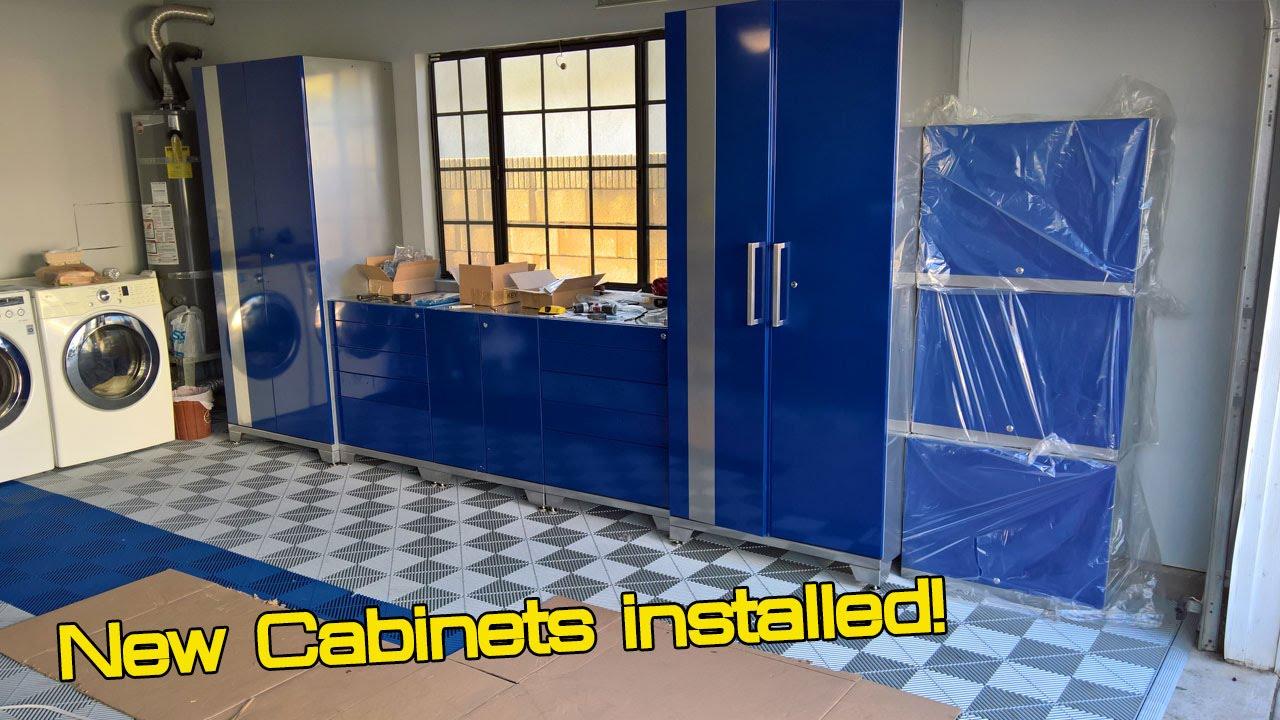 Garage makeover Part 2  NewAge Performance Plus Cabinets