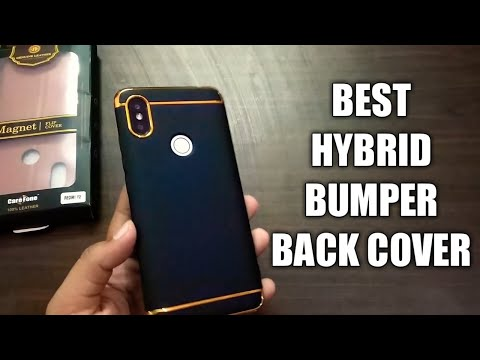 Redmi Y2 Hybrid Bumper 3-in-1 Back Cover | MI HYBRID BUMPER BACK COVER | MI INDIA