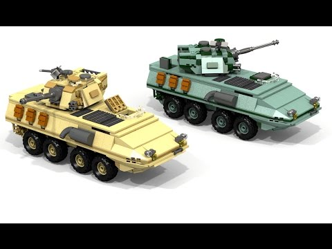 LAV-25A2/A4: A LEGO® creation by Shôçk Añd Awé : MOCpages.com