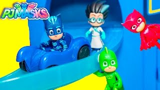 PJ MASKS Disney PJ MASKS Headquarters HQ with Catboy and Gekko a TheEngineeringFamily New Toys Video
