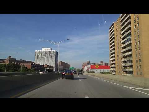 Driving from Elmhurst in Queens to Hicksville in Nassau,New York