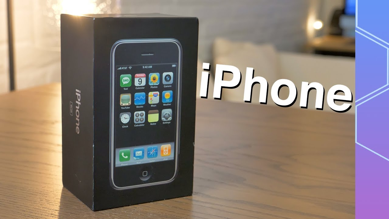 Download Unboxing the ORIGINAL iPhone 2G 13 years later!