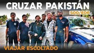 Riding in Iran, Pakistan and India. World motorbike tour.