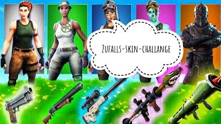 Fortnite Zufalls-Skin-Challange [SRS GAMING]